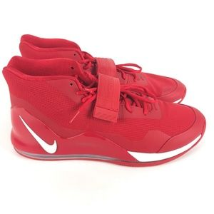 Nike Air Force Max '19 Shoes 15.5 Red AR4095 603